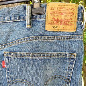 Levi's 560 comfort fit jeans